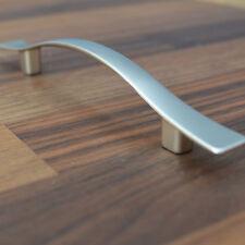 Matt NICKEL MÖBELGRIFF BA 96 mm Elegant matt Ausführung GRIFFE Küche HANDLE NEW