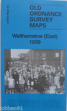 Old Ordnance Survey Detailed Maps Walthamstow East London 1939 Special Offer
