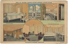 1950s Mineral Water System Excelsior Springs Missouri Advertising Postcard