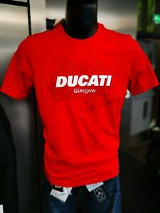Ducati Glasgow T-Shirt Red - REDUCED!