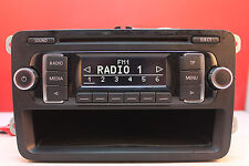 VOLKSWAGEN RCD 210 MP3 CD PLAYER WITH CODE VW CADDY TRANSPORTER T5 POLO TOURAN