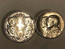 GREECE 1963-64 30 Drachmai Silver - 2 Coins AU-Unc