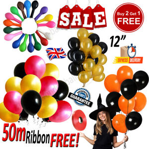 "20 X Latex PLAIN BALOON BALLONS helium BALLOONS 12"" inch Party Bday Wedding"