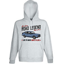 FIAT 128 3P 1100 SPORT - GREY HOODIE - ALL SIZES IN STOCK