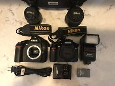 Nikon D3000, D80, W/55-200mm, 2@18-55mm, Sb600 Flash, Make Offer. Lots Of Goods
