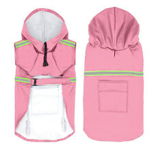 Dog Raincoat Waterproof Dog Doggie Rain Coat Jacket Rainwear Clothes S-5XL