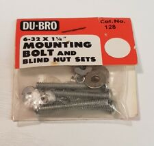"Du-Bro Dubro 128 6.32 x 1 1/4"" Mounting Bolts  -  Modeling Rc Boat Airplane."