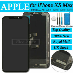 For iPhone XS MAX Replacement LCD Display Touch Screen Digitizer Black Frame UK