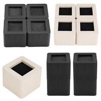 Set of 4 Furniture Risers Adjustable Sofa Bed Table Riser Lift Under Bed Support