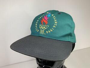 Eastport Atlanta 1996 Olympic Games Collection Baseball Cap Hat Vintage VGC