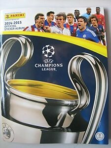Panini 2014/ 2015 UEFA Champions league complete 634 stickers collection + album
