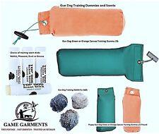 More details for gun dog training retrieval dummies scent stick obedience puppy dummy rabbit ball