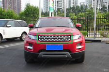 Silver Front Honeycomb Mesh Grille Fit for Land Rover Range Rover Evoque 2012-18