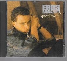 CD ALBUM 8 TITRES--EROS RAMAZZOTTI--MUSICA E--1988