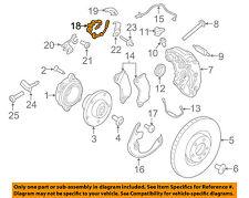 PORSCHE OEM 15-17 Macan Front Brake-Flex Hose 95B611701E