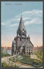 264651) AK Lutherkirche Chemnitz gelaufen 1924