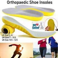 Memory Foam Orthopaedic Unisex Shoe Insoles Pads Comfort Heel Trainer Foot Feet