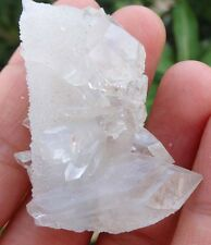 SUPERB POINTED APOPHYLLITE ON CHALCEDONY MINERALSG=17