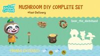 COMPLETE Mushroom DIY Recipes: Animal Crossings New Horizons