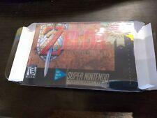 Sleeve for SNES SFC Super Nintendo famicom Zelda Legend Link game USA japan new