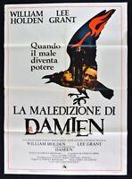 Poster Die Fluch Von Damien William Holden Omen Teufel Satan Devil M323