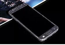 Bling Crystal Diamond Glitter Full Body Wrap Decal Sticker Case Skin For Samsung