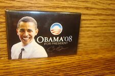2008 Historical Collectable Obama '08 for President Signature Donor Button