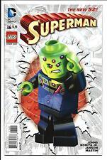 SUPERMAN #36 (LEGO couverture variante, jan 2015), NM/MT NEUF