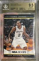 2012 Panini NBA Hoops Kawhi Leonard Rookie Gem Mint  9.5 BGS Beckett Clippers