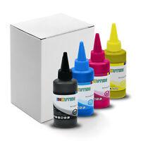 Dye Sublimation Ink - 4 Multi Color 100ml Bottles - Epson EcoTank ET-2720