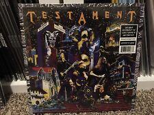 TESTAMENT - Live At The Fillmore - BLUE VINYL -  2 LP record legacy new order