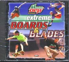Mountain Dew: extreme Boards & Blades (PC-CD, 1999) Win95-XP - NEW in Jewel Case