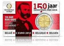belgie 2 euro 2014 rode kruis  (Vlaams)