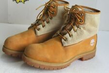 Timberland Wheat Leather / Wool #27079 9140 Men's Boots. US Size 10 M.