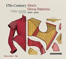 17th-Century Men's Dress Patterns by Susan North Hardback Book New