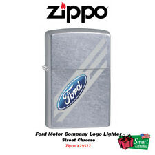 Zippo Ford Motor Company Logo Lighter, Street Chrome #29577