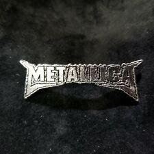 Metallica logo   PIN BADGE