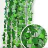 Artificial Plastic Silk Garland Vine Ivy Leaf Plants Home Wedding Party Decor