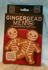 Gingerdead Men Combination Cookie Cutter Stamper by Fred