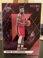 Zion Williamson 2019-20 Panini Chronicles #292 Recon Pink Rookie Pelicans