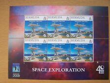 BERMUDA,2009,SPACE EXPLORATION 70C SHEET OF 6,CAT £12.U/M,EXCELLENT.