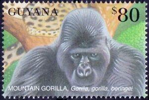 Mountain Gorilla, Monkeys, Guyana 2001 MNH