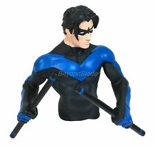 DC Night Wing Molded Bust Bank Figure Coin Bank Marvel Universe