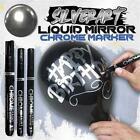 3PCS Silver Art Liquid Mirror Chrome DIY Highlight Marker Pen Multifunction Pen
