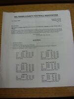 05/06/1992 Wiltshire County Football Association: Agenda, Annual Report, Account