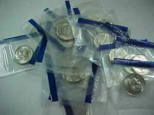 42 - 2006 P  DIMES BU IN CELLO FROM MINT SETS