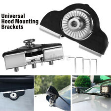2PCS Universal Car Hood Mounting Brackets Led Work light Bars Clamp Holder