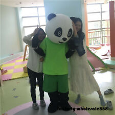 New Chinese Panda Bear Mascot Costume Dress Adult Outfit party clothing Festival