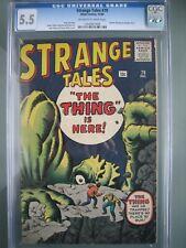 Strange Tales #79 CGC 5.5 Atlas Comics 1960 Doctor Strange Prototype