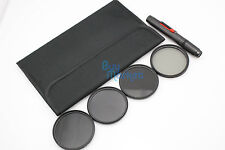 62mm IR720+IR850+IR950 IR Infrared + CPL Circular Polarizing filter set+Gifts